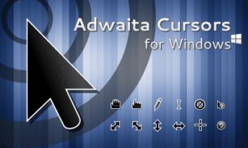 Adwaita — свежие интересные указатели мыши