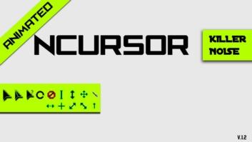 Анимированные черно-зеленые курсоры