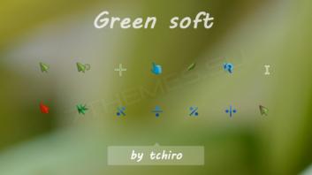Green soft — свежие яркие курсоры