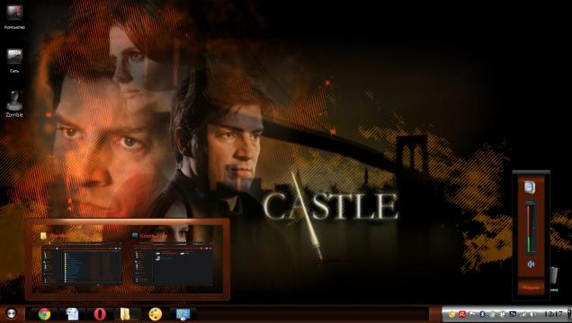 Тема для поклонников сериала Касл (Castle) - Скриншот #2