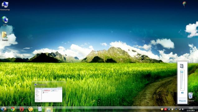 Весеннее оформление с прозрачными окнами - Скриншот #3