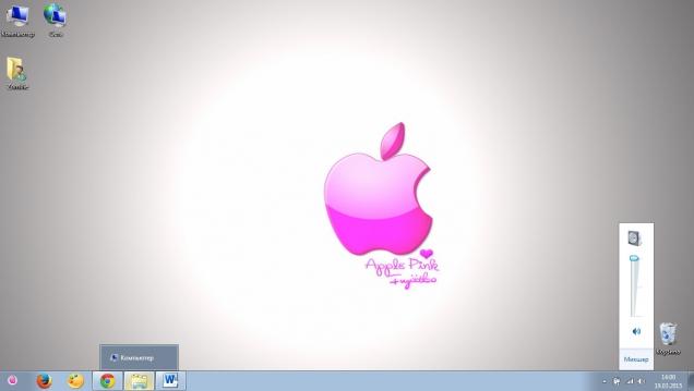 Гламурное яркое оформление в стиле Mac OS (Apple) - Скриншот #3