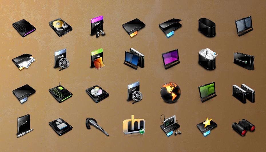 Иконки Sony Ericsson
