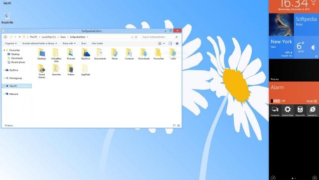 Пакет оформления в стиле Windows 9 - Скриншот #2