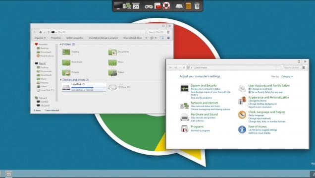 Пакет оформления для поклонников Google Chrome - Скриншот #1