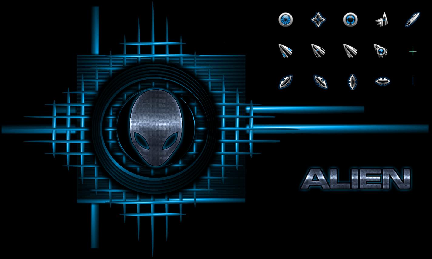 Коллекция указателей в стиле Alienware
