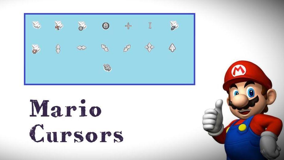 Указатели в стиле игры «Марио»