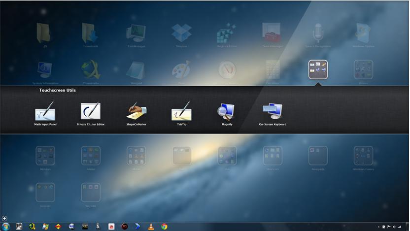 WinLaunch — Быстрый запуск программ в стиле Launchpad из Mac OS X