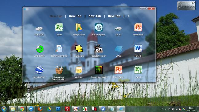 ViPad — быстрый запуск программ