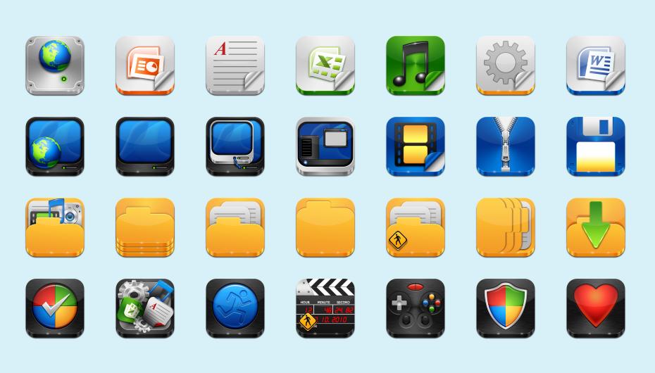 I icons