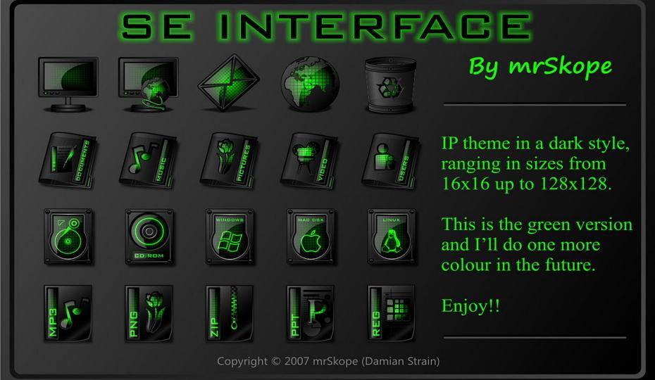 SE Interface Green