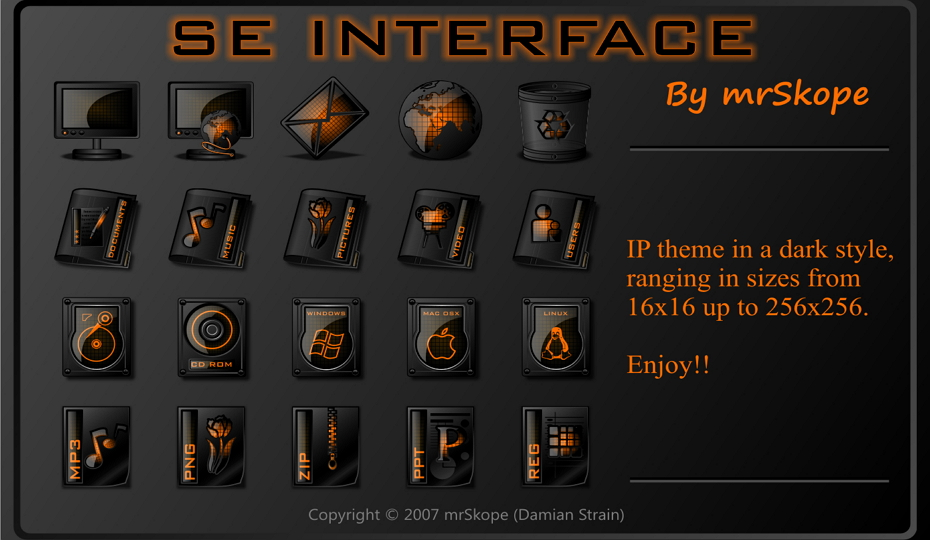 SE Interface Orange