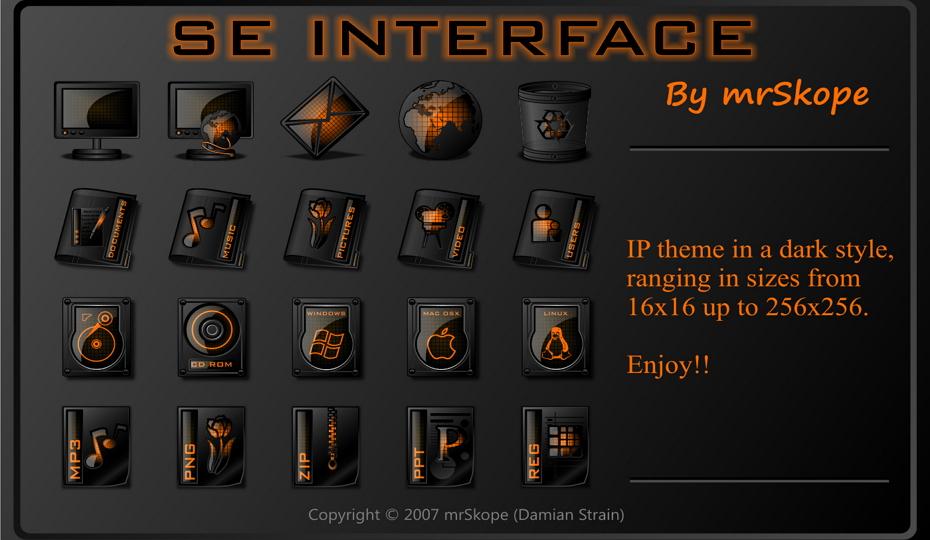 SE Interface Orange