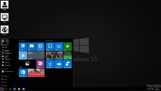 Классическая тема Windows 10 Black Edition - Скриншот #1