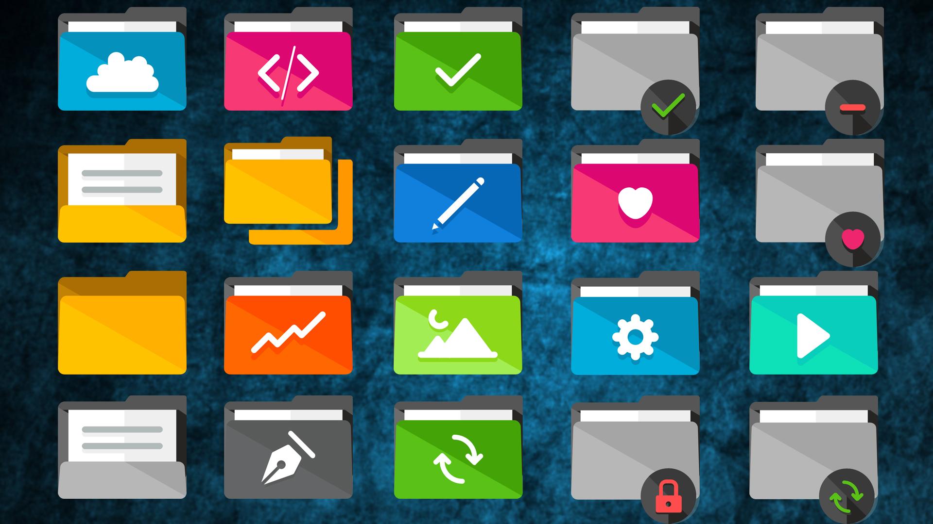Folders Flat 7dust