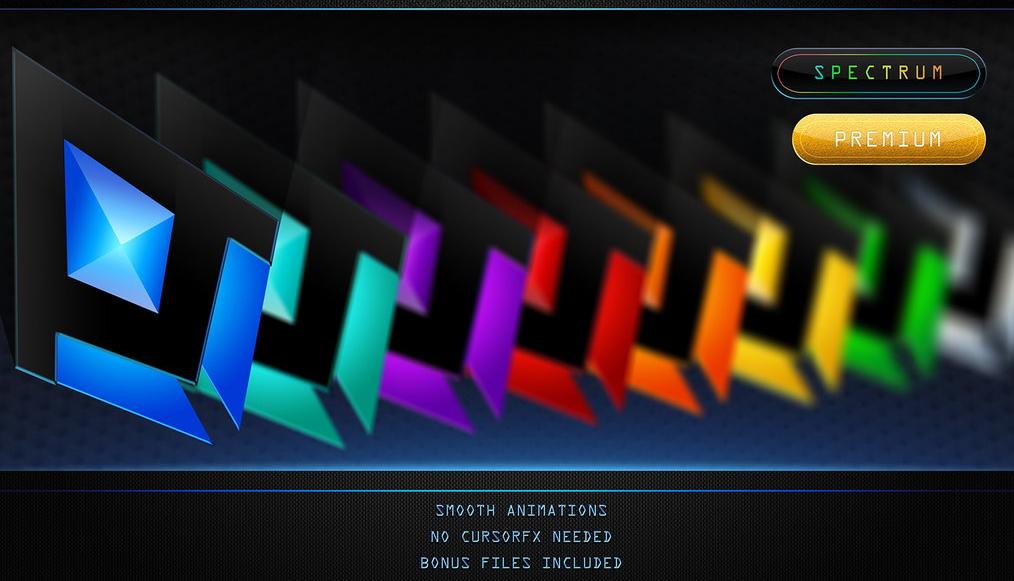 Night Diamond v.2 — премиальные курсоры с красивой анимацией (7 цветов)