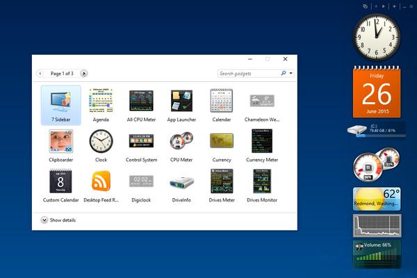 Gadgets Revived — возвращаем гаджеты в Windows 10