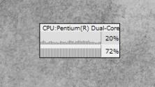 Simple Cpu Meter