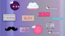 Забавный гаджет-часы вместе с ярким интерфейсом чтобы детей