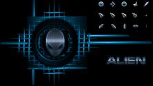 Коллекция указателей во стиле Alienware
