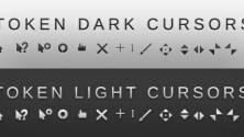 Курсоры во тёмном да светлом оттенках