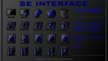 SE Interface blue
